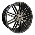 "KW-SERIES S20 CONCAVE antrasite/polished 20""(EC14461)"