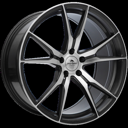Forzza Ultra Grey Face Machined Grey Face Machined 19""
