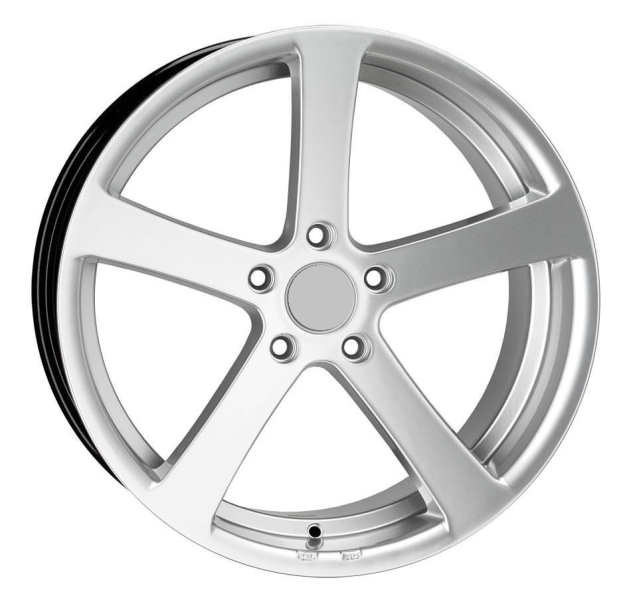 KW-SERIES S13 CONCAVE hyper silver 19""
