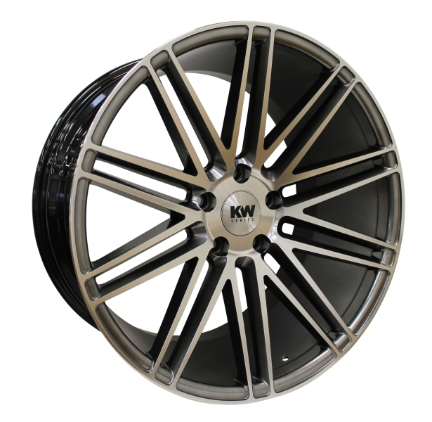 KW-SERIES S20 MEGA CONCAVE antrasite/polished 20""