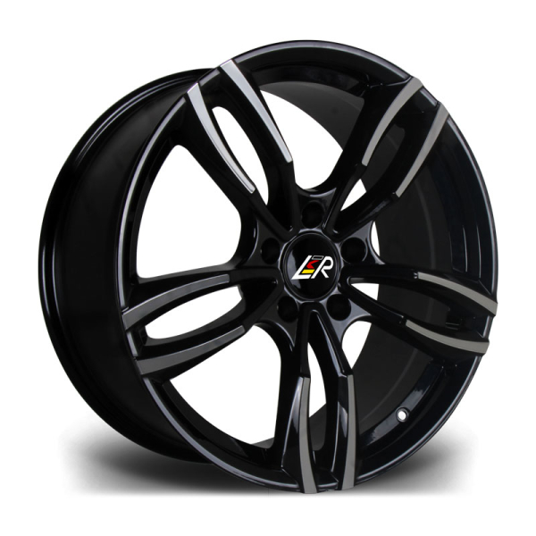 LMR STAG BLACK POLISHED 19""